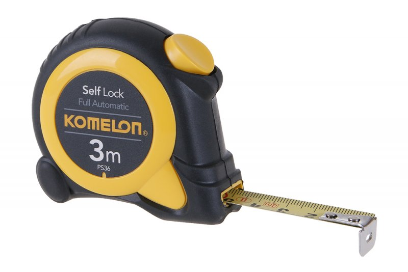 Svinovací metr SELF LOCK 3mx16mm KOMELON