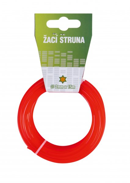 Struna 2.4mm/15m hvězda Eco